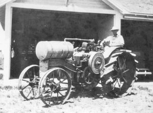 Davis' oldest tractor was a 1916 Titan manufactured by the International Harvester Company that had been formed from the Deering Harvester Co., Plano Manufacturing Co., the Champion Line, and Milwaukee Harvester Co. in 1902.