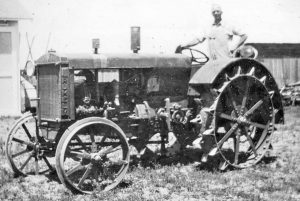 "Davis' newest tractor, a Rumely ""6,"" was purchased in 1935. The tractor was manufactured by the Allis Chalmers Company that succumbed to bankruptcy and was dismantled in 1985."