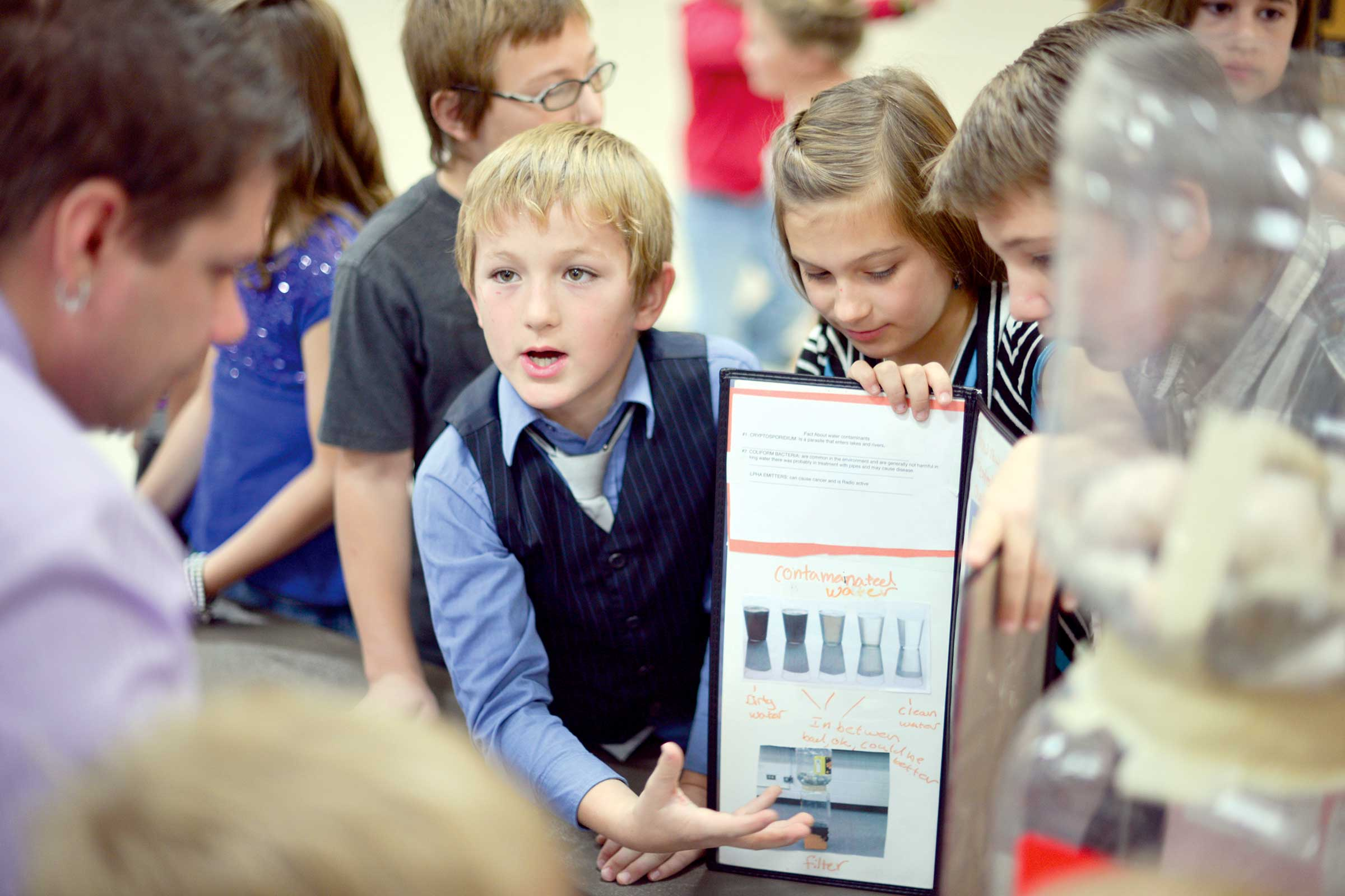 Ivy Students' filtered education |