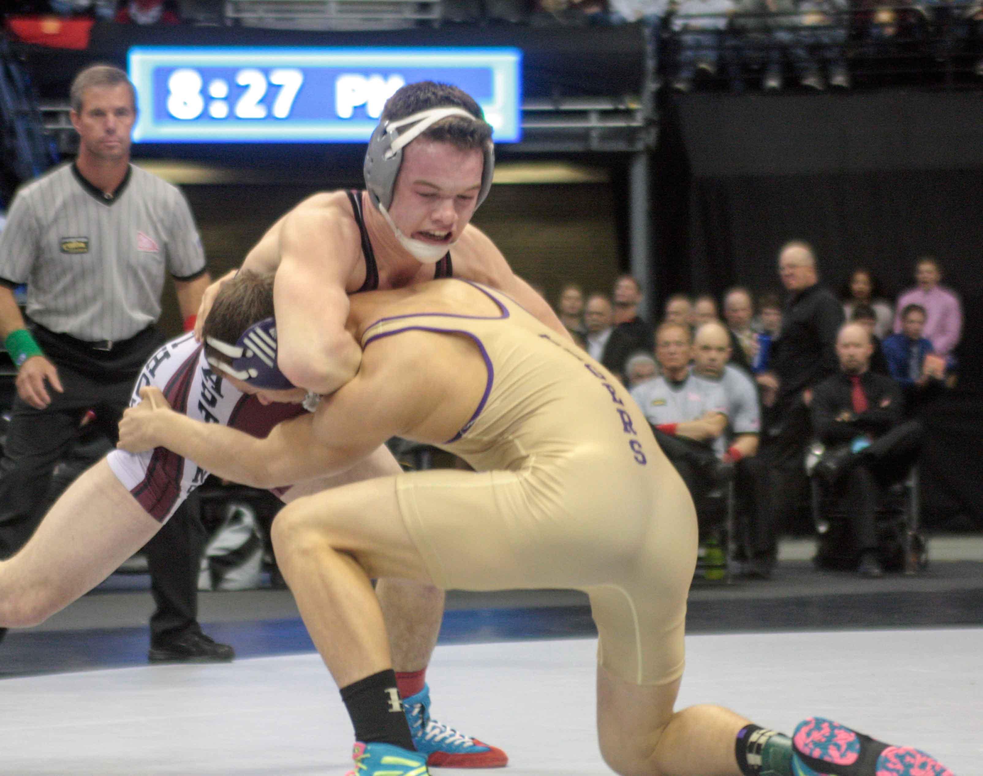 Wrestling: Fate, Ellis win state championships |