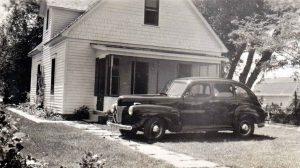 The home of Berthoud's day marshal, Ross Haworth, was targeted by thieves in June 1932. Haworth and his wife bought the house at 725 W. Welch Ave. earlier that year for the sum of $1,500. On the evening of the crime wave, Berthoud's night marshal was L.O. Rockwell. Photo courtesy Berthoud Historical Society, A. Haworth Collection
