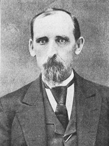 """Native Missourian, John Carroll Ish, survived imprisonment and seven wounds suffered during the Civil War to become one of the Little Thompson Valley's early citizens. Photo courtesy """"History of Larimer County"""" by Ansel Watrous"""