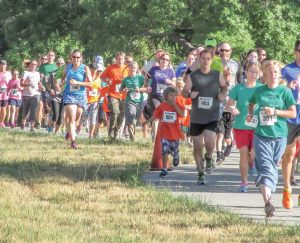 Families enjoyed a great day of running and walking at the Fall Family Fun Run on Sunday. Proceeds from the event go toward health and wellness programs at Berthoud schools.