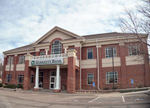 Berthoud Trustees discussed the option to purchase the Guaranty Bank building for use as a new town hall facility at its Tuesday meeting, however; Town Administrator Mike Hart told them that no decision would be made until the March 22 meeting at the earliest. Surveyor photo