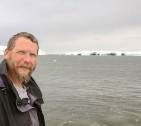 Berthoud resident and research scientist and engineer at University of Colorado - Boulder Terry Bullet traveled to Antarctica in 2014 and 2015 to install radio towers that help with research of Earth's ionosphere. Photo courtesy of Terry Bullett