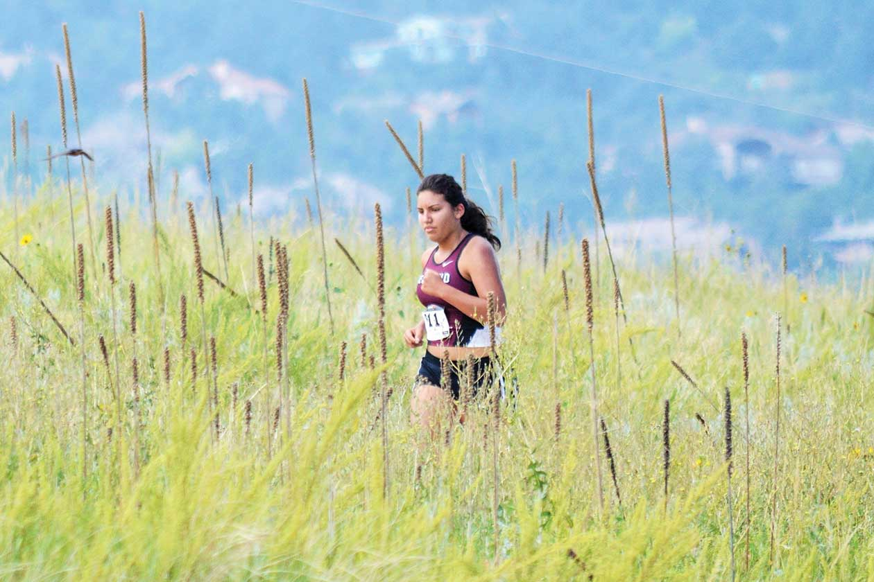 Cross Country Checks Out State Course Berthoud Weekly