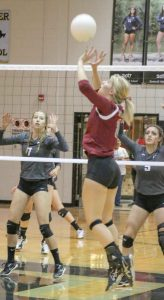 Berthoud Weekly Surveyor volleyball player of the year: Jessa Megenhardt.
