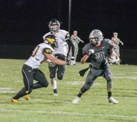Berthoud Weekly Surveyor football player of the year: Wyatt Woodrick.