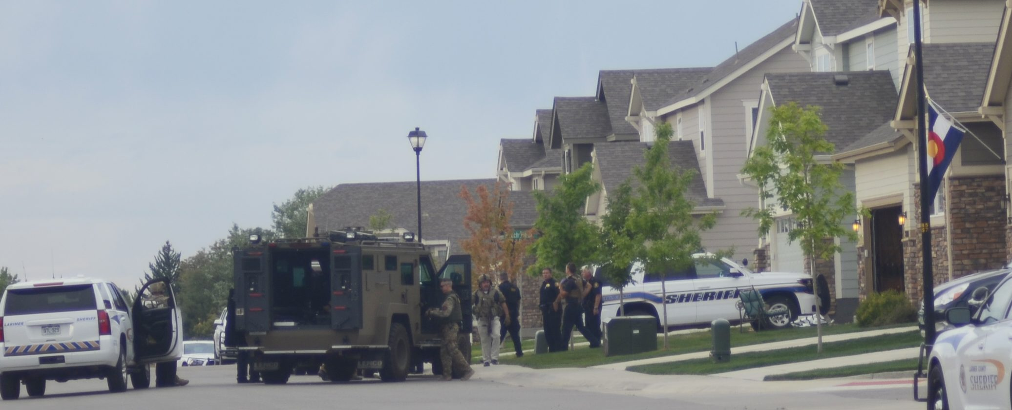 Standoff in Prairie Star neighborhood ends with no injuries