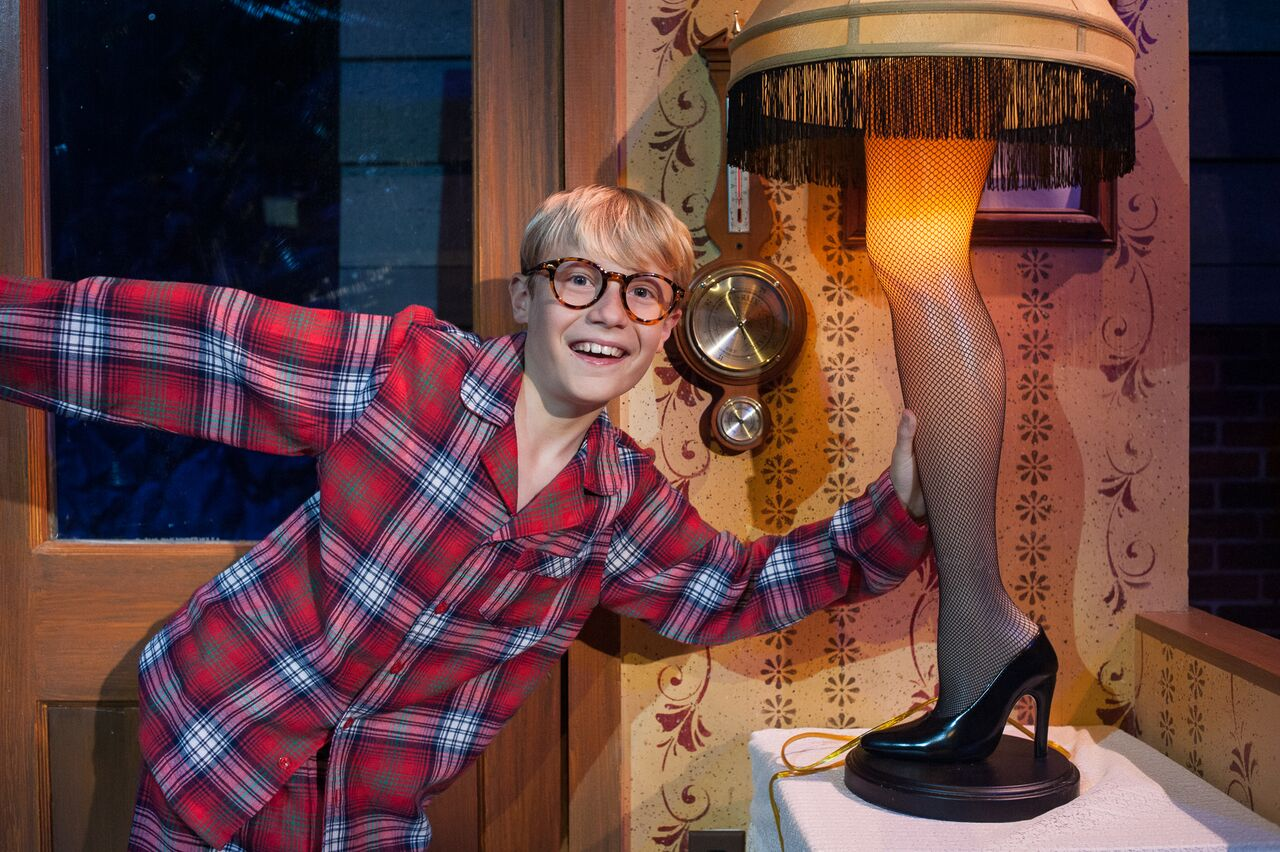 Ralphie Christmas Story.A Christmas Story The Musical Adds Charm To A Classic